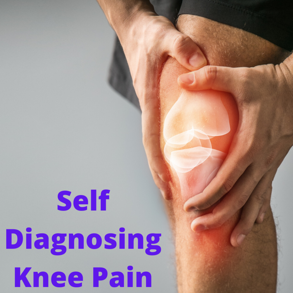 Self Diagnosing Knee Pain