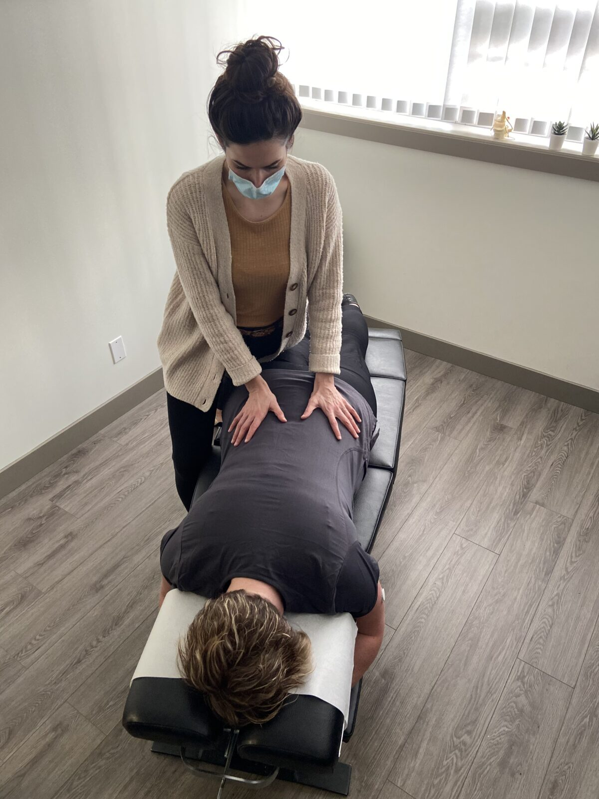 getting an adjustment